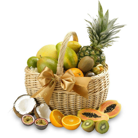 Exotic Fresh Fruit Gift Basket