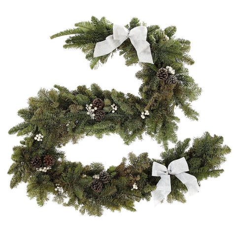 Garland with Cones and White Berry