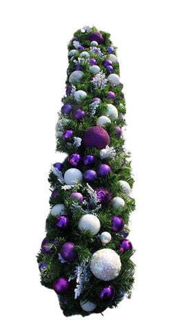 Garland with Purple