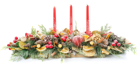 Glamour Christmas Centerpieces