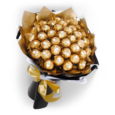 Gold Chocolate Bouquet
