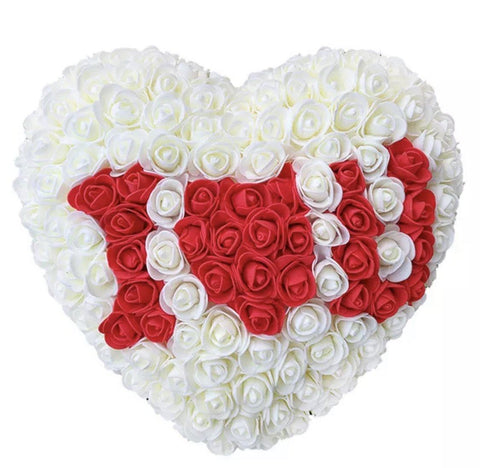Handmade I love You Heart Shape Rose