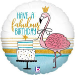 Have a fabulous Birthday Balloon (18in)