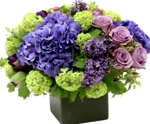 Hydrangea and Lilac Box