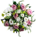 Lavender Roses and Lisianthus Bouquet