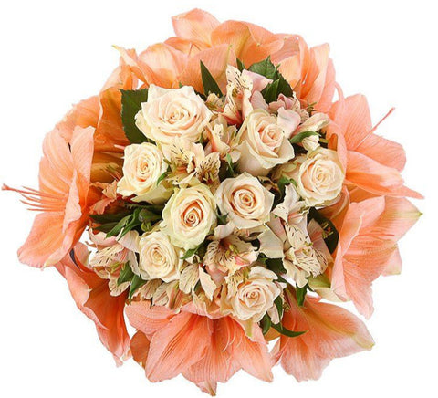 Light Peach Bouquet