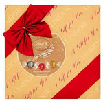 Lindt Lindor Gift Wrapped Assorted Chocolate Truffles Box