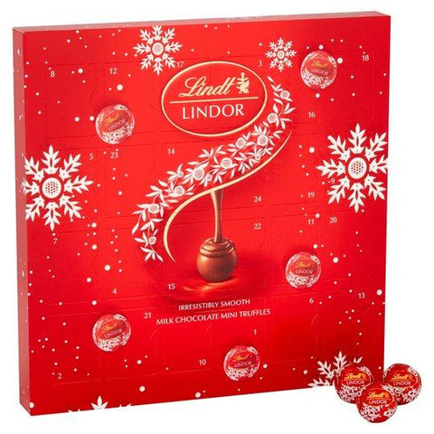 Lindt Lindor Milk Chocolate Mini Advent Calendar