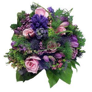 Lush and Lavender Bouquet