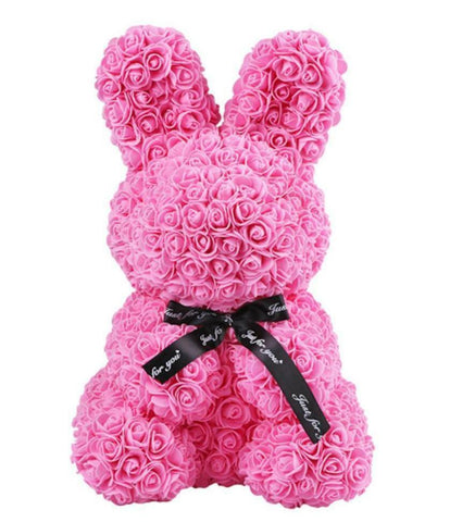 Luxury Pink Rose Rabbit