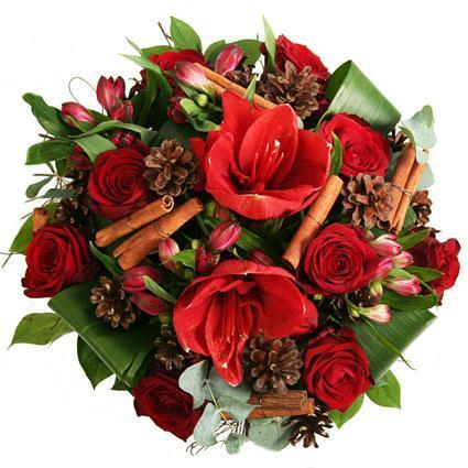 Magical Red Christmas Bouquet