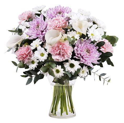 Monthly Pastel Seasonal Flowers Subscription