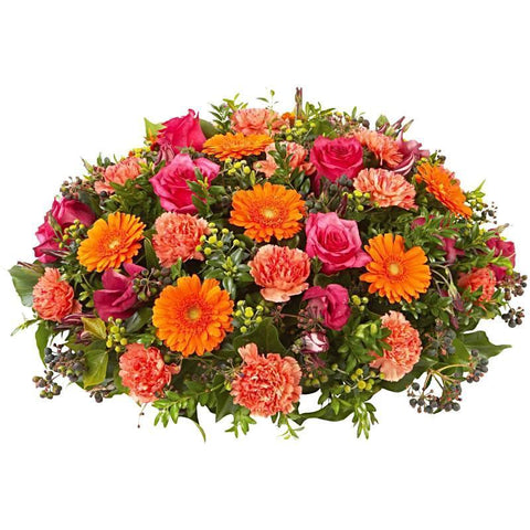 Orange Tones Posy