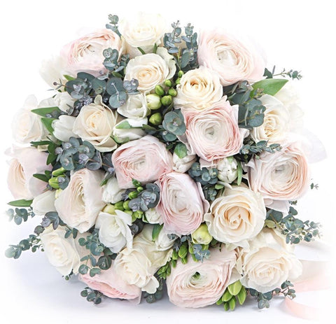 Pastel Pink Romantic Bouquet