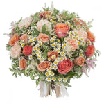 Peach Embrace Bouquet