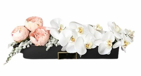 Peonies and Orchids Luxury Box