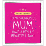 Pigment Happy Jackson Neon Pink Mother's Day Card