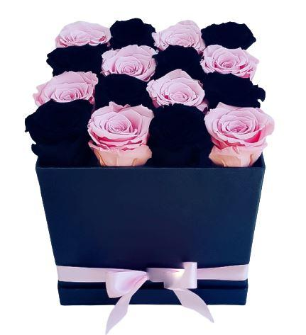 Pink and Black Roses Signature Box