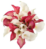 Pink and White Calla Lily Bridal Bouquet