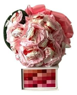 Pink Raffaello Chocolate Bouquet