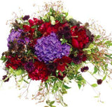 Poetic Garnet Bouquet