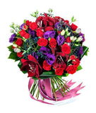 Purple and Red Obsession Bouquet