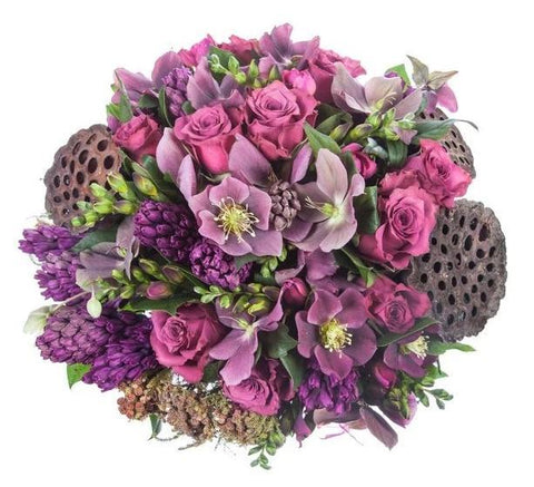 Purple Obsession Bouquet