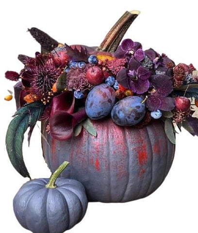 Purple Pumpkin with Plum