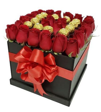 Roses and Chocolate Signature Box