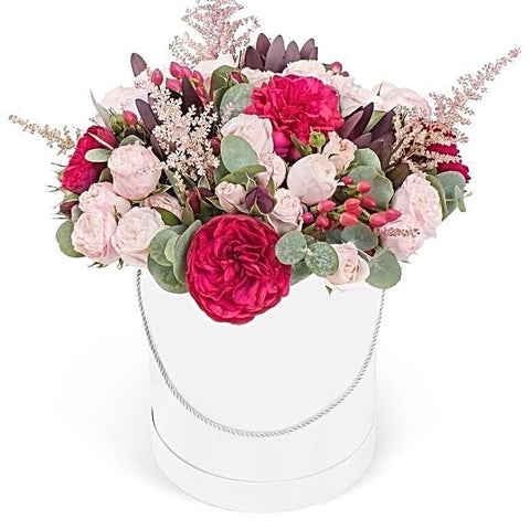 Rosiness Garden Hat Box