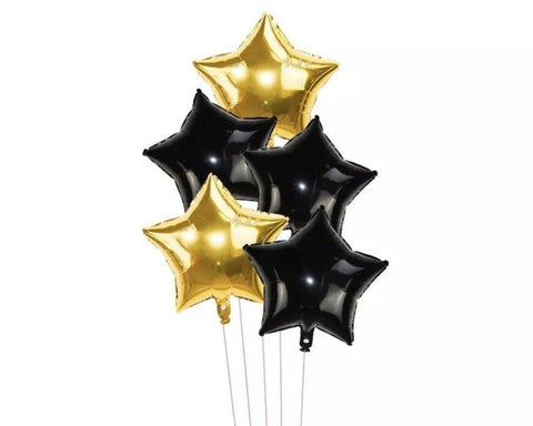 Set Luxe Star Foil Balloon (18inch)