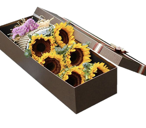 Sunflowers Luxury Box