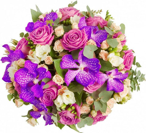 Vanda Orchids Bouquet