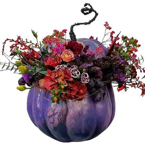 Vintage Purple Pumpkin