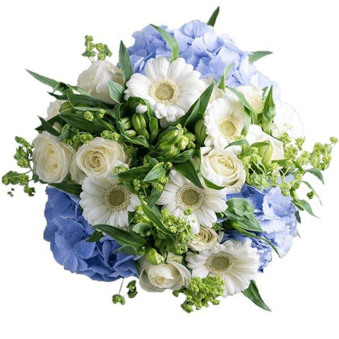 White Cloud on Blue Sky Bouquet