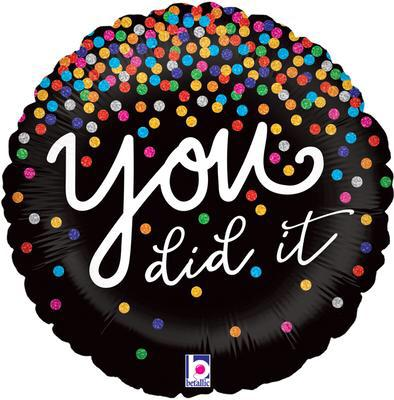 YOU DID IT! Balloon (18in)