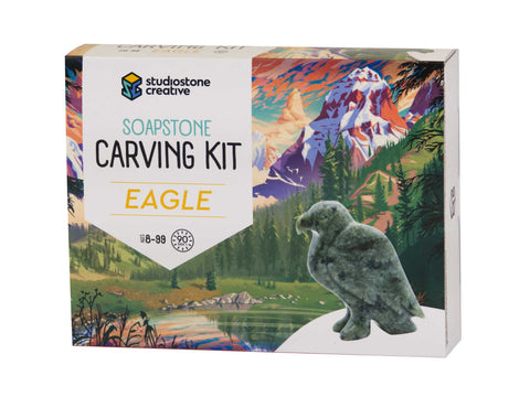 Eagle Soapstone Carving Kit