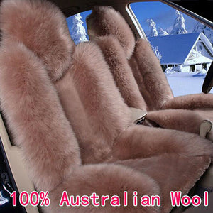 Pure Australian Natural Wool Seat Cover