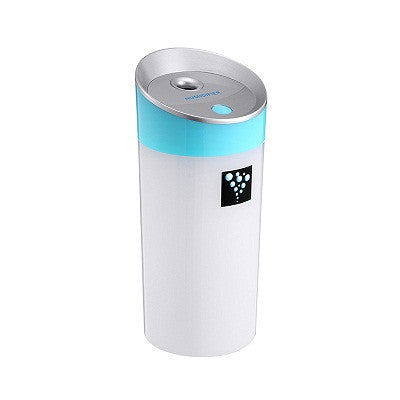 Car Humidifier with USB Port Fits in Cup Holder