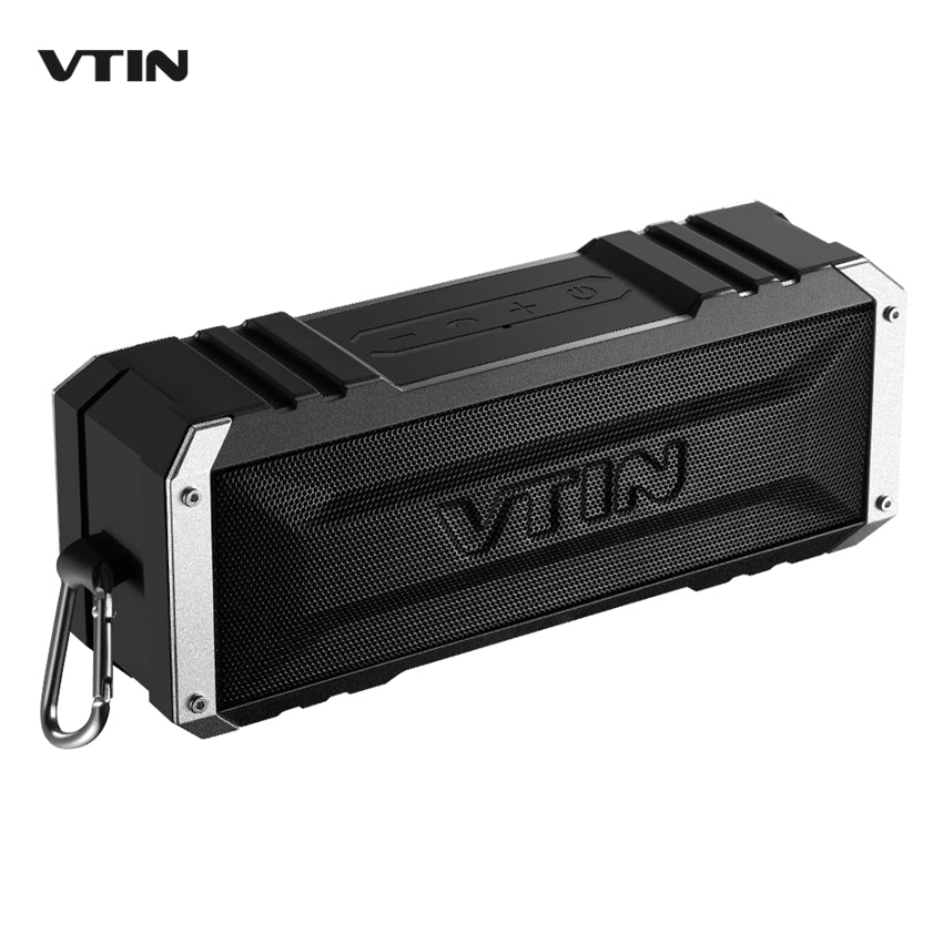 VTIN Portable Waterproof Wireless Bluetooth 4.0 Speaker 20W Dual 10W Drivers