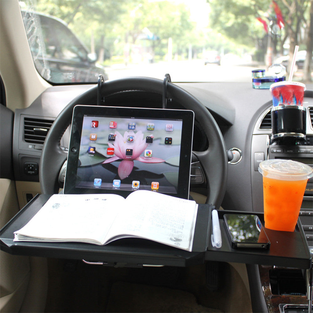 Portable Desk for Steering Wheel or Back Seat
