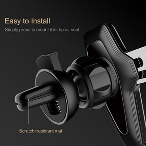 High-Quality Smartphone Holder with Gravity-link Technology