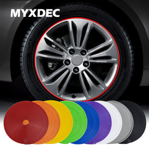 8M Decorative Strip for Wheel Rim