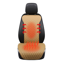 Rib-Patterned 12V Heated Seat Cover