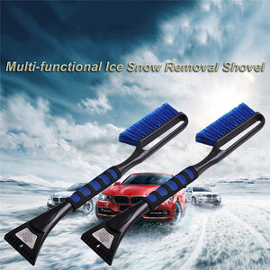 Multi-functional Foam-handled Brush & Chisel for Snow & Ice