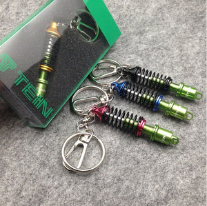 Coilover Car Suspension Spring Key-Chain