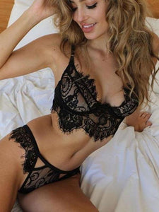 Memories Lace Bralette & Panty Set