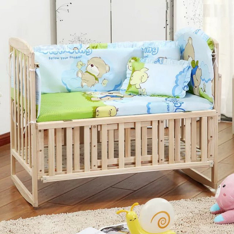 products cribs baby bedding crib lauralee unicorn inspirations set grande