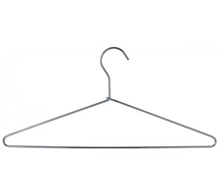 Heavy Duty Open Loop Hangers, Stainless Steel, Case of 12