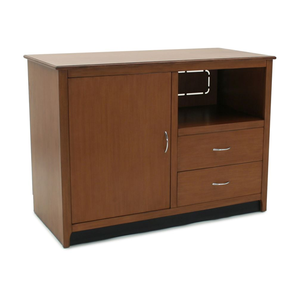 Hotelure Media Cabinet, Brown